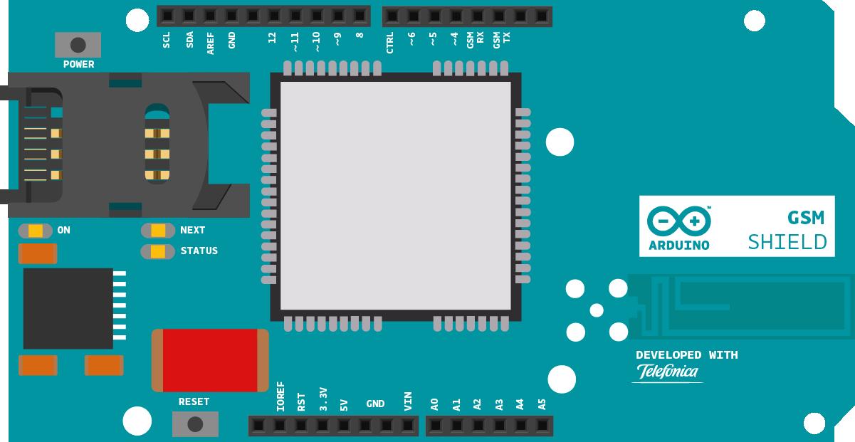 GSMShield ArduinoUno