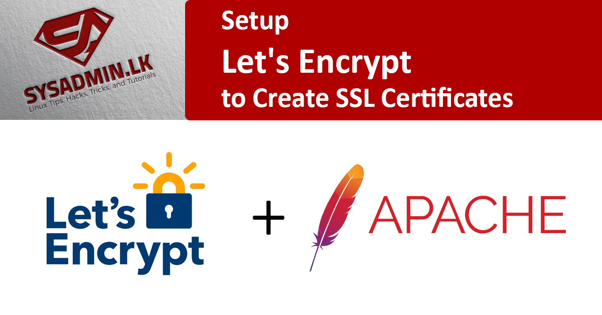Let's Encrypt installation with apache